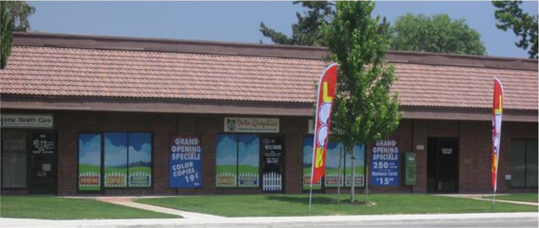 Data Graphics Carson City Shop Picture