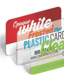 PlasticWhiteBusCards